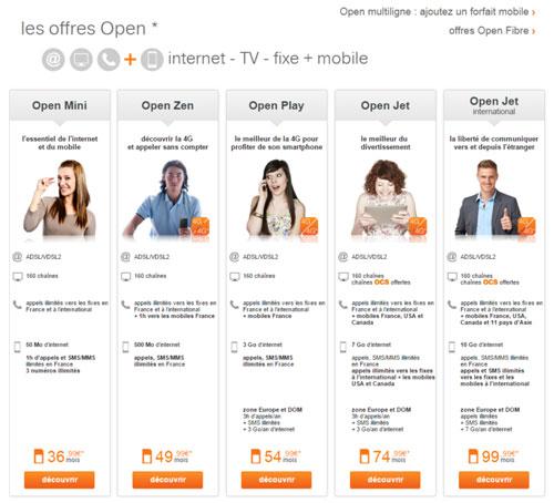 orange open jusqu 39 5 forfaits mobiles moins chers avec. Black Bedroom Furniture Sets. Home Design Ideas