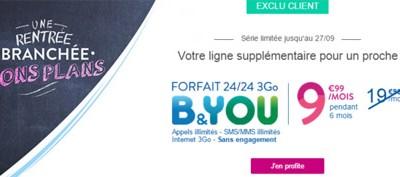 Les offres internet et mobiles moins chères chez Bouygues pour quelques semaines!