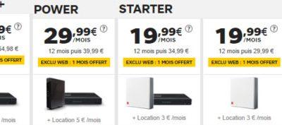 Les offres internet SFR restent en promotion en octobre (ADSL et fibre)