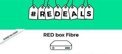 REDEALS : les offres internet RED restent en promotion jusqu'au 23/01