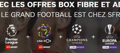La box Power Sport de SFR : l'offre dédiée aux amateurs de football