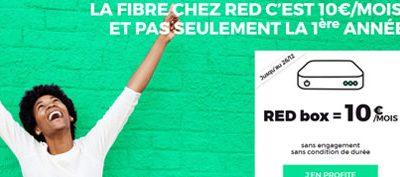 La box internet de RED reste à 10€ jusqu'au 26 décembre prochain