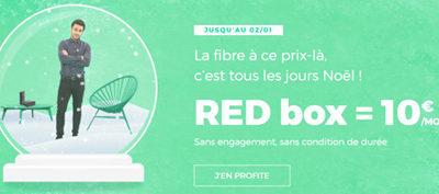 L'offre fibre RED reste à 10€/mois sans engagement encore quelques semaines