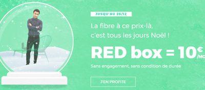 La box Série spéciale de RED toujours en promotion à 10€/mois