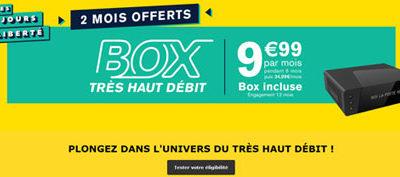 La box La Poste toujours à moins de 10€ avec 2 mois offerts